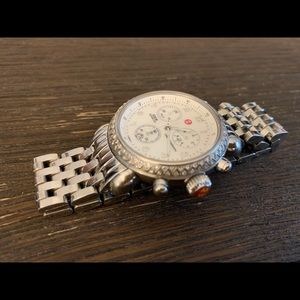 Michele Accessories - Michele CSX Diamond Bezel Chronograph Watch